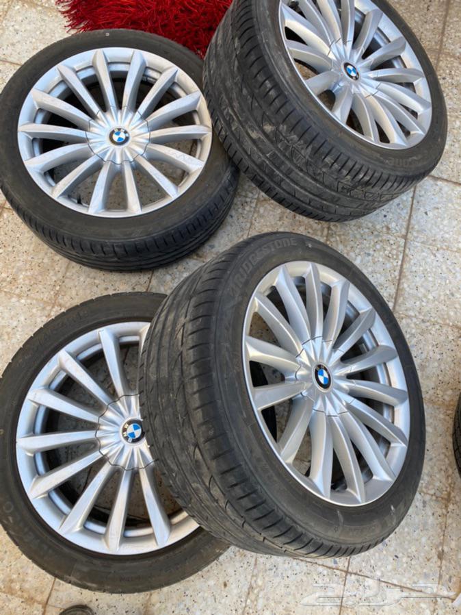 جنوط وكفرات BMW فئة السابعه 730