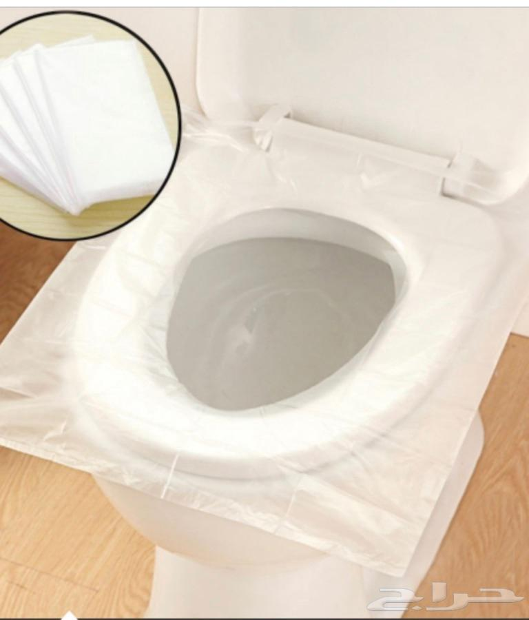 غطاء حمايه لمقعد المرحاض من الجراثيم والفيروسات