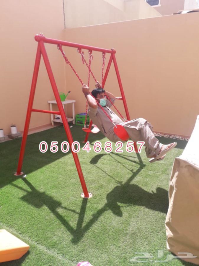 مراجيح زحاليق ملاهي و العاب حدائق