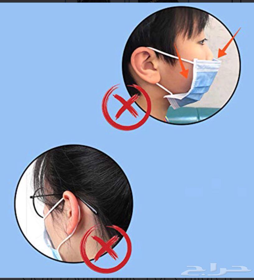 وصلة واقية للأذن من خيط الكمامة( Ear hook )