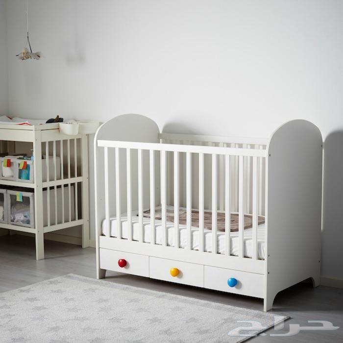 سرير اطفال من ايكيا from mimg6cdn.haraj.com.sa