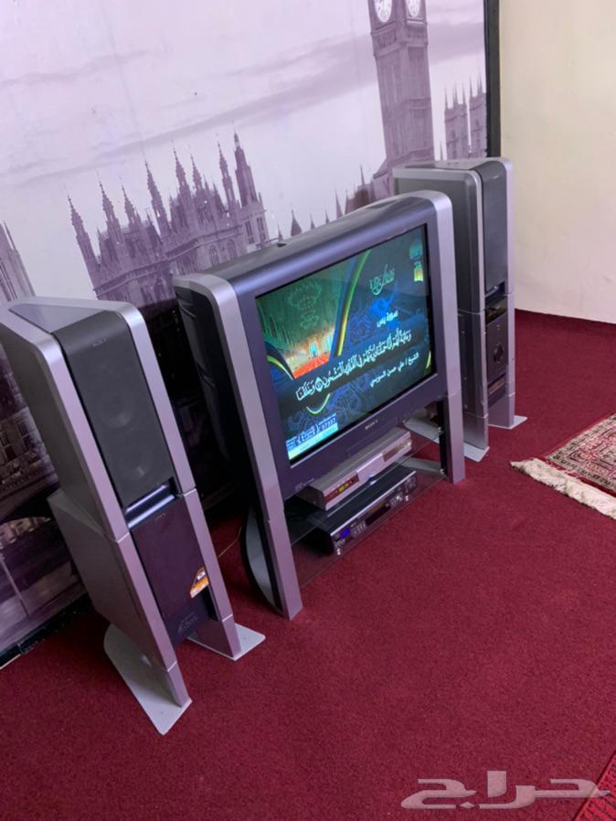 للبيع تلفزيون ومسجل سوني