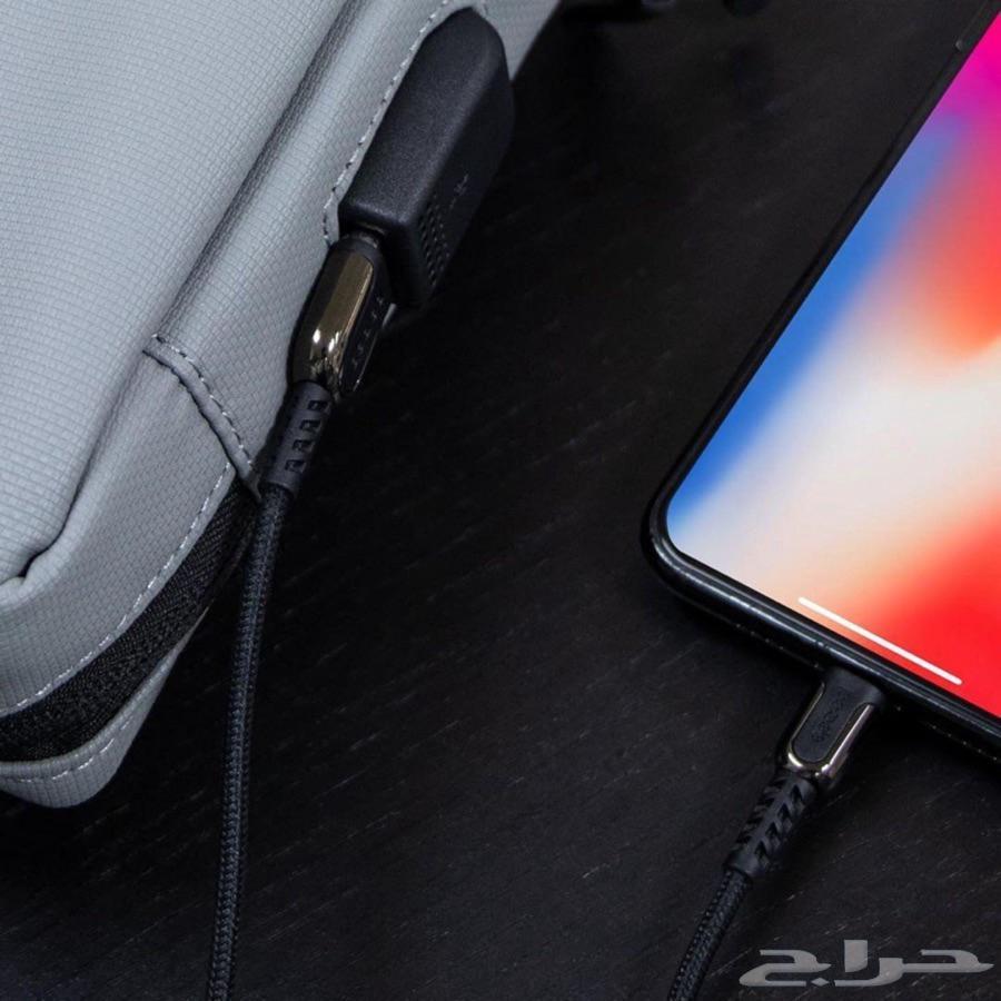 شنطة يد أنيقة بمنفذ USB ألوان متعددة