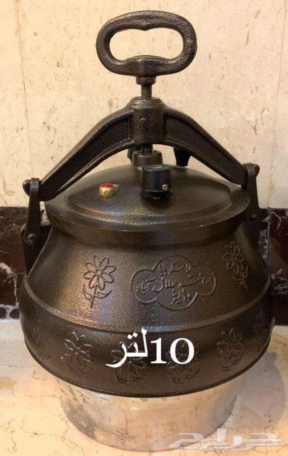 قدر ضغط الافغاني لحم مستوي في 10 د
