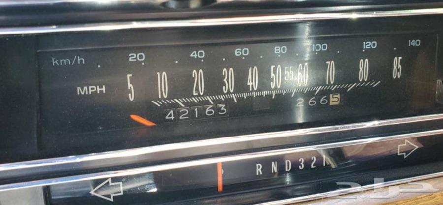 كاديلاك ديفيل اليكنس كوبيه باب واحد موديل 1984 الممشى42000