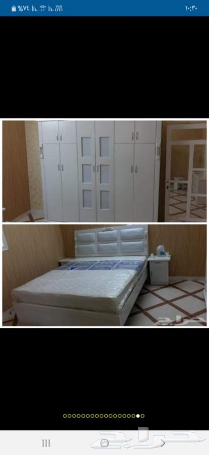 غرف نوم وطنى جديده مع التوصيل والتركيب 1900ريال