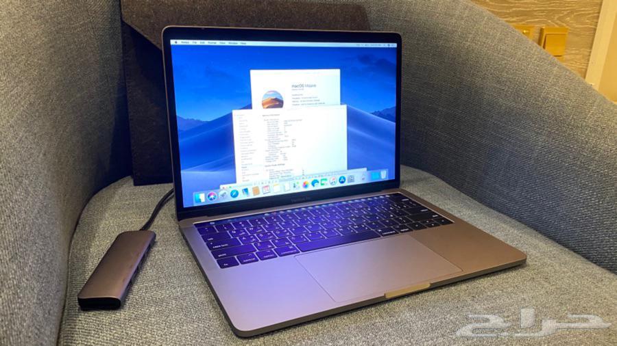 ماك بوك برو MacBook pro 13 تتش بار مواصفات خاصة i7 ورام 16