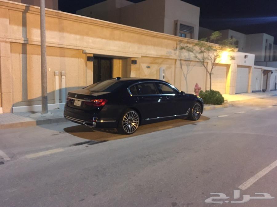 BMW 750 2017 Master Class