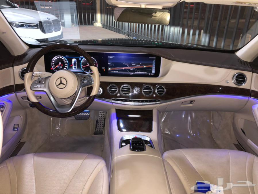 مرسيدس S 450 موديل 2018