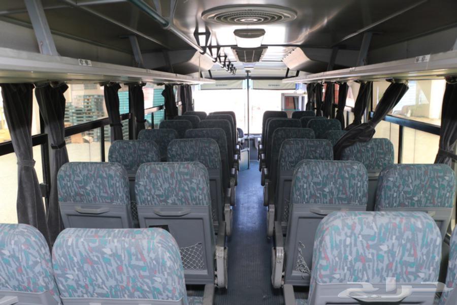 حافلة دايو نظيفه جدا  كل شي شغال