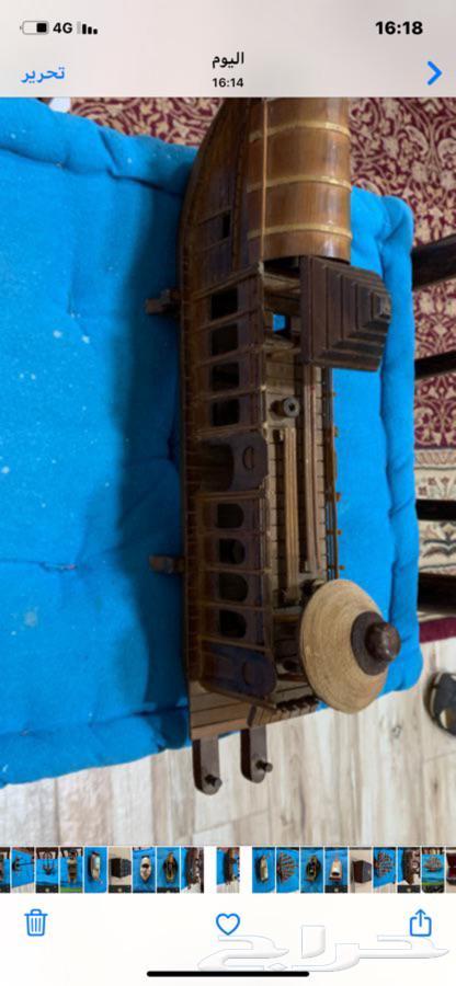 تراث صناديق وبواخر وزوارق خشبيه صناعه يدويه قديمه تحف