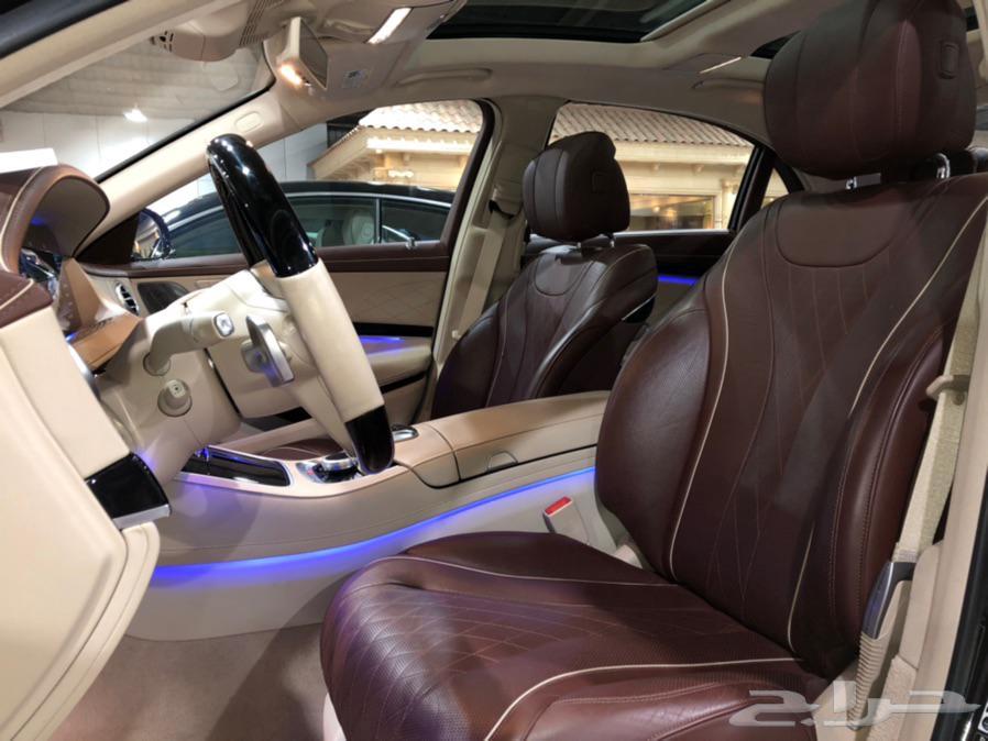 مرسيدس S 560 موديل 2018