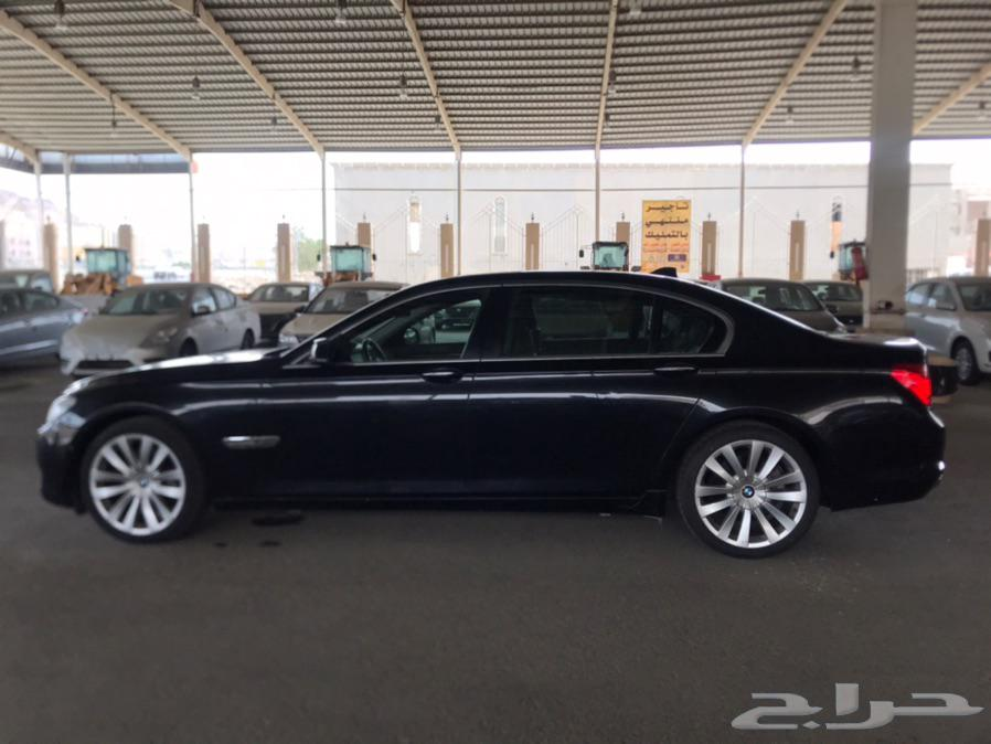 BMW IL 740 2012 بي ام دبليو الفئة السابعة