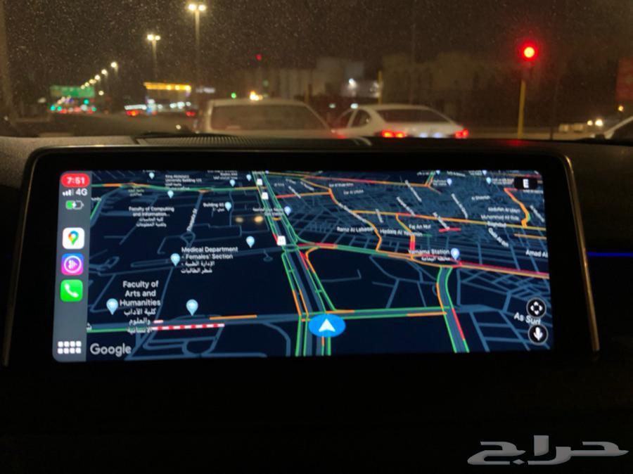 برمجة جميع مواصفات بي ام CarPlay BMW كاربلاي خرائط 2021