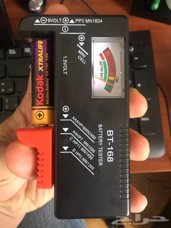 جهاز اختبار صلاحية البطاريه سهل الاستخدام