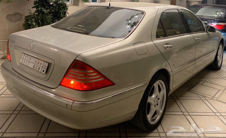 مرسيدس اس كلاس 320 - موديل 2002