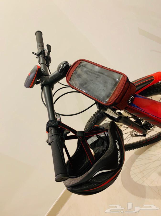 دراجة هوائية جبلية نظيفة جدا 1500 ريال - جده   حي الزهراء