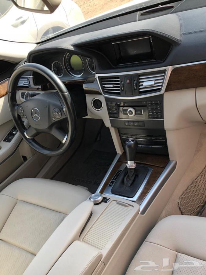 مرسيدس E200 2011 يحتاج مكينة