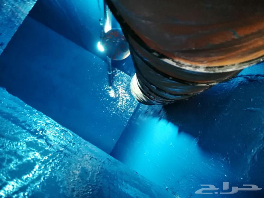 عزل خزانات المياه حل ارتفاع فاتوره المياه كشف تسربات المياه