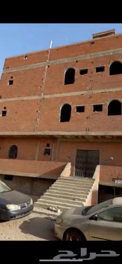 عماره حي الروابي تتكون من 12 شقه عطم