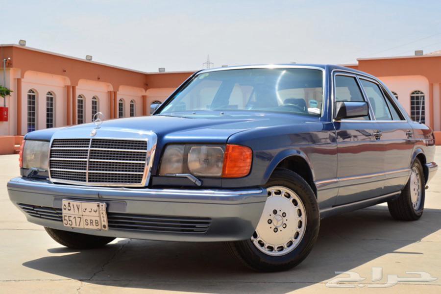 مرسيدس 1990 500SE ( مخزن )