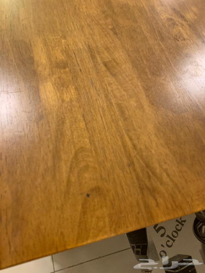 طاولة طعام خشب 8 كراسي