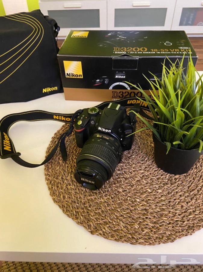 كاميرا احترافية نيكون nikon D3200
