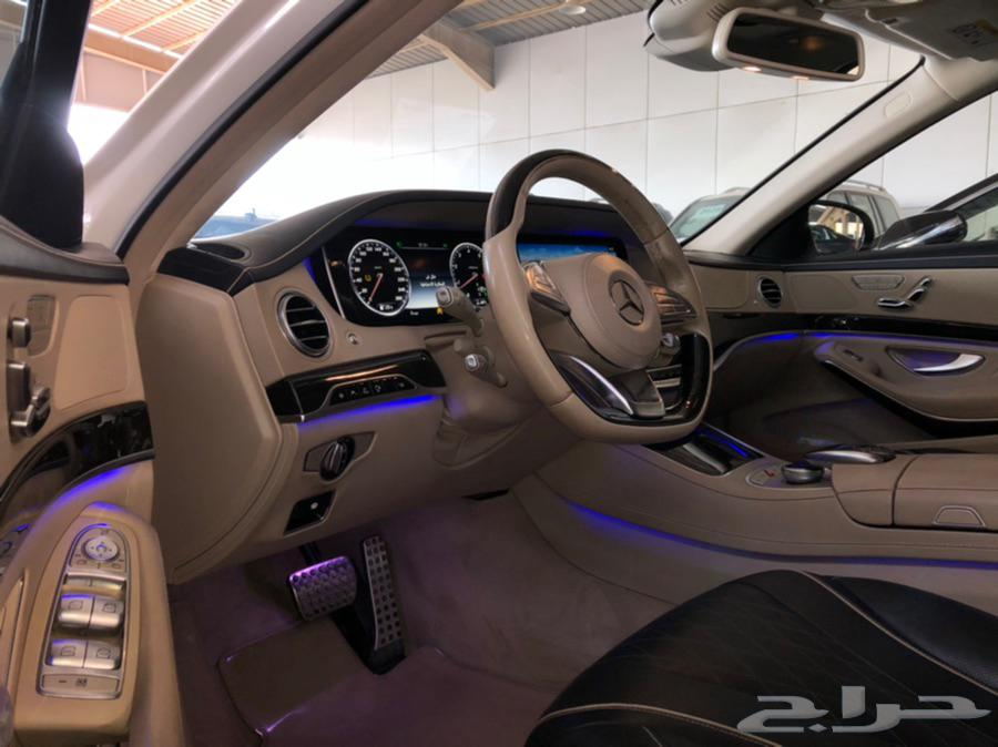 مرسيدس S 400 موديل 2016