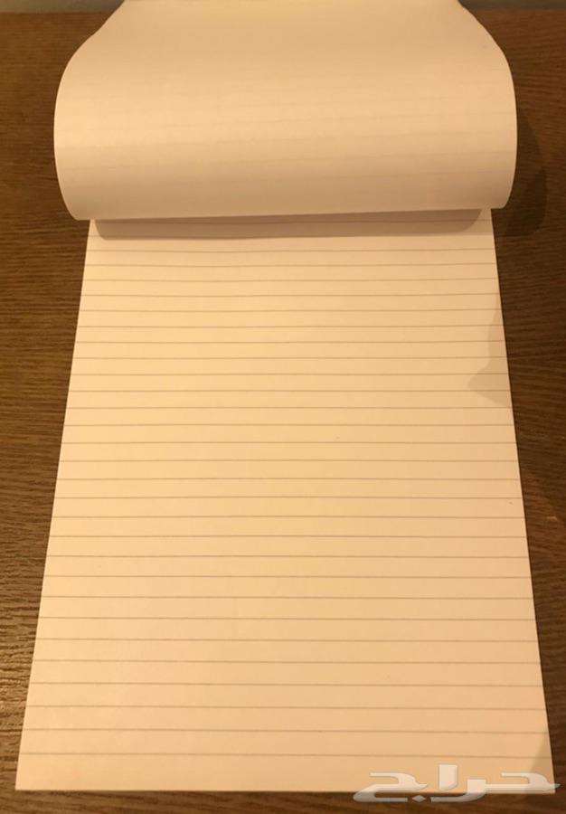 دفتر ملاحظات الملك فهد قديم تراث