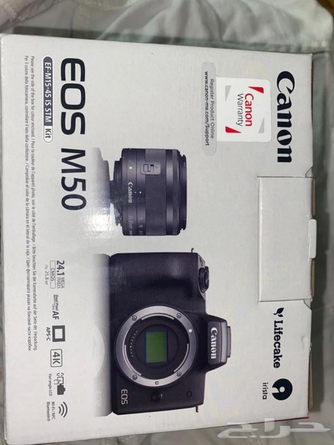كاميرا كانونM50