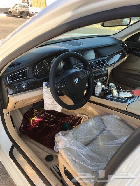 BMW بي ام الفئه السابعه 2011