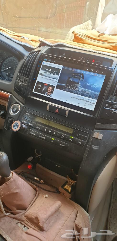 شاشة جيب لاندكروزر 2008 الى 2015 مع كامرة خلف
