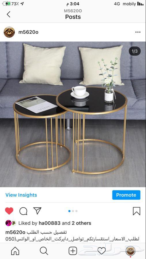 تفصيل طاولات تقديم مداخل على حسب الطلب