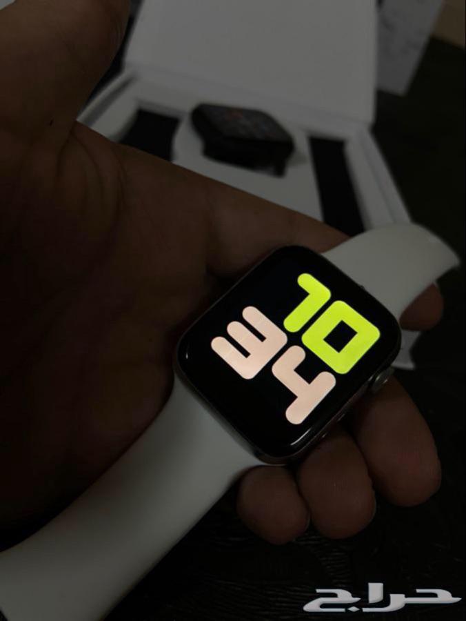 ساعه ابل الاصدار6 ساعات واتش Apple Watch ضمان سنه سعر80