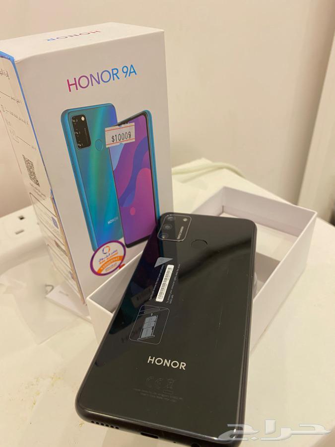 جوال HONOR 9A جديد استخدام اسبوعين فقط