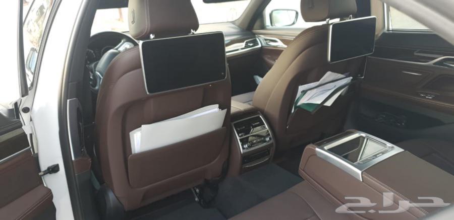 بي ام دبليو الفئة السابعة BMW 2019 li نظيف جدا
