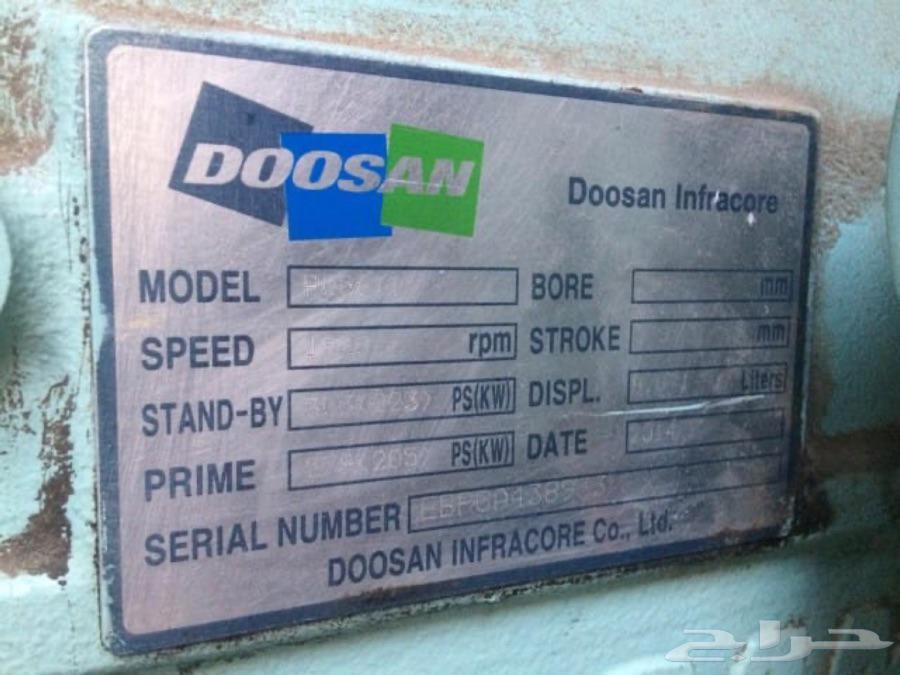للبيع مولد كهربائي صناعه كورية ماركة DOOSAN