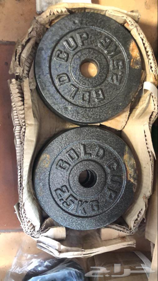 اجهزة رياضية معدات رياضية تجهيز انديةدنابل اوزان اثقال نادي