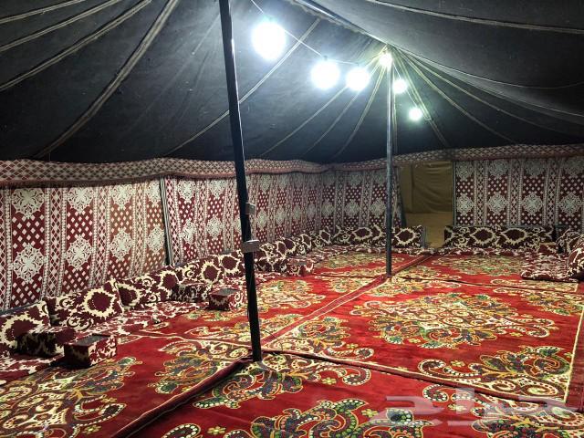 مخيم الفخامة للإيجار