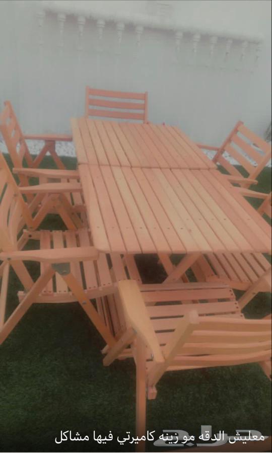 جلسات خارجية للحدائق والمنازل والكافيهات خشب