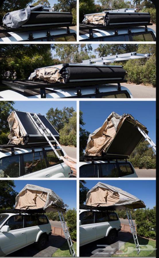 خيمة سقف سيارة