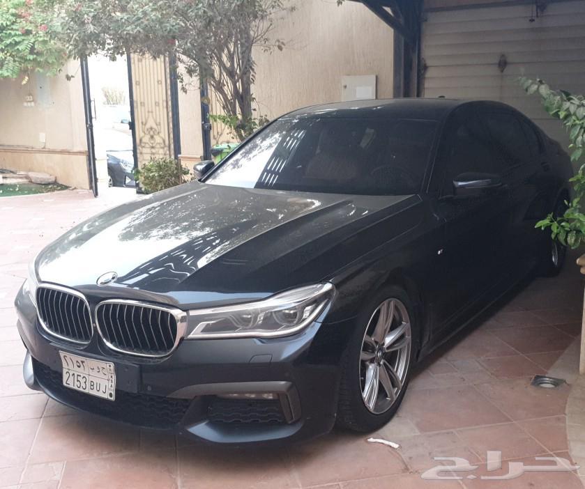للبيع BMW 740Li موديل 2016