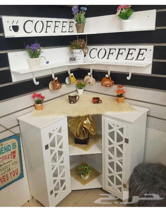 تفصيل طاولة قهوه ركن كوفي كورنر حسب الطلب