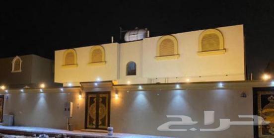 دور ارضي شقتين جديد للبيع غرب ابو مرخه