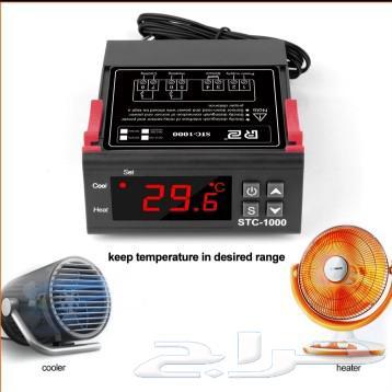 جهاز تحكم بالحرارة .tempretcher controller