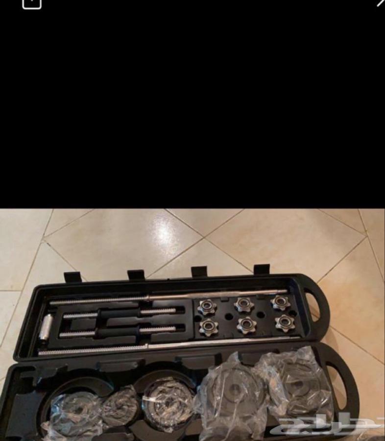معدات رياضية اجهزة رياضية تجهيز اندية اثقال سير دراجةفرفيرة