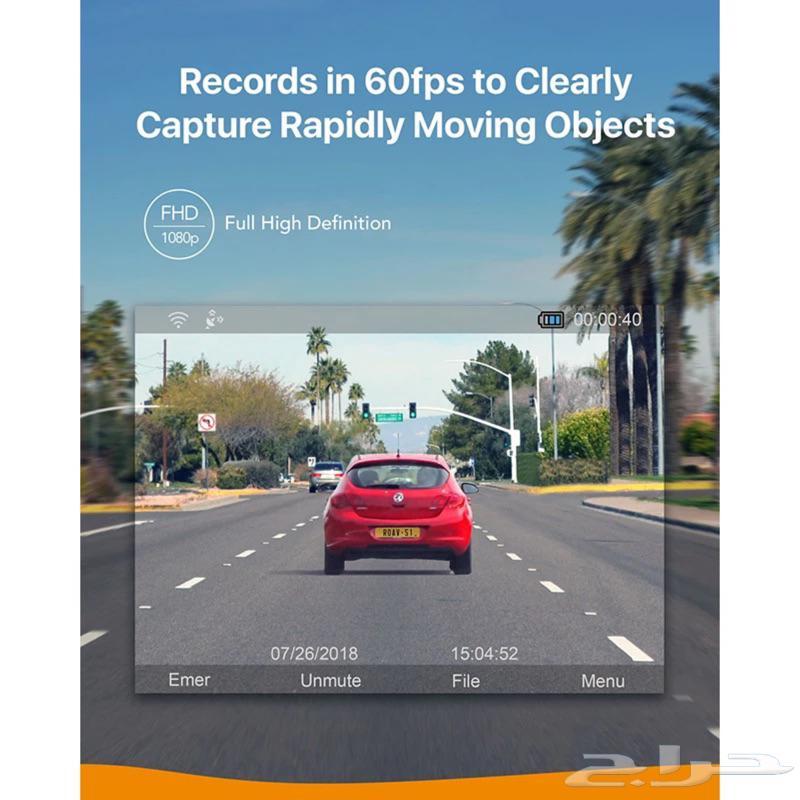 داش كام ( كاميرة سيارة) S1 Anker ROAV مع الذاكره 32GB