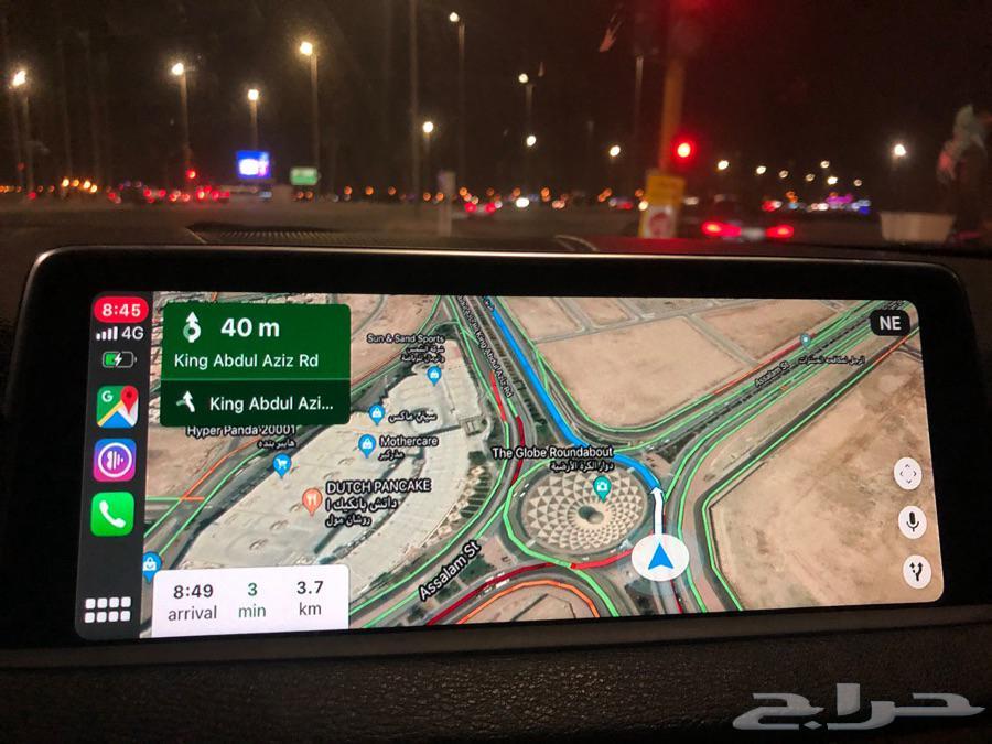 اضافة ابل كاربلي لسيارات بي ام دبليو Apple CarPlay BMW