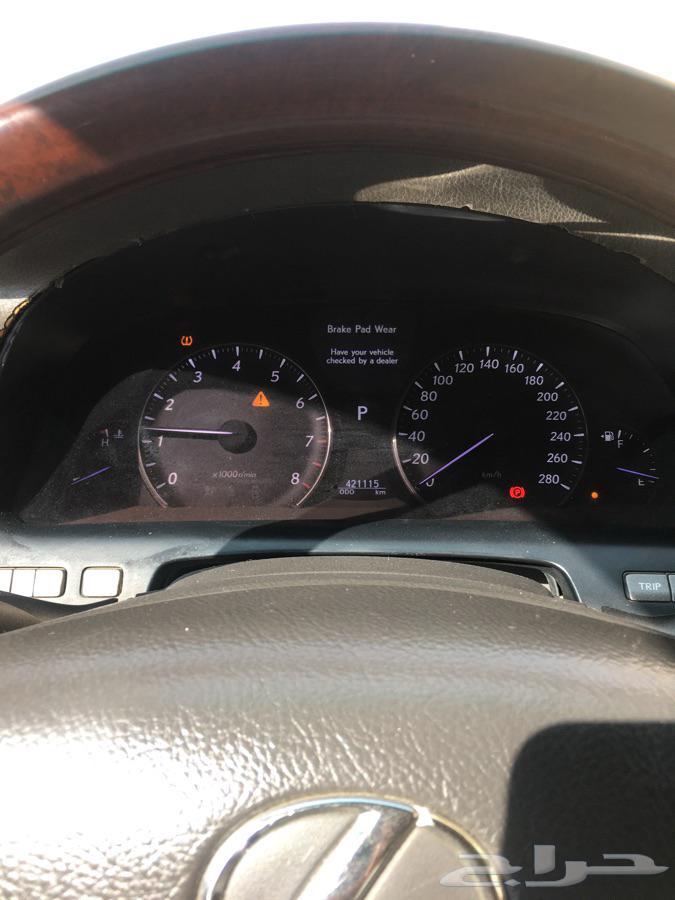 للبيع. لكزس 2008 شورت. ls460