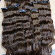 اكستيشن وصلات شعر طبيعي خصل تيب استكير